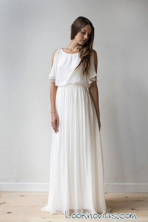 elizabeth dye vestido de novia blanco