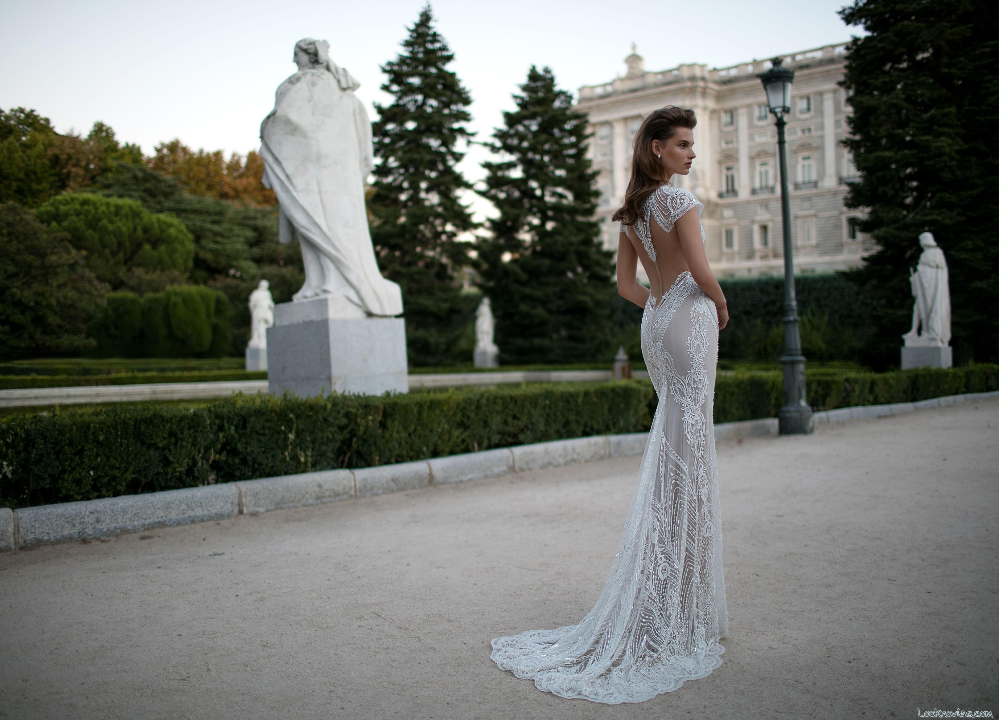 escotes en la espalda de berta bridal primavera 2016