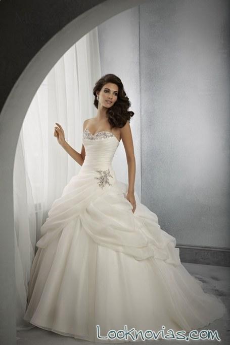 falda abullonada madeline novias