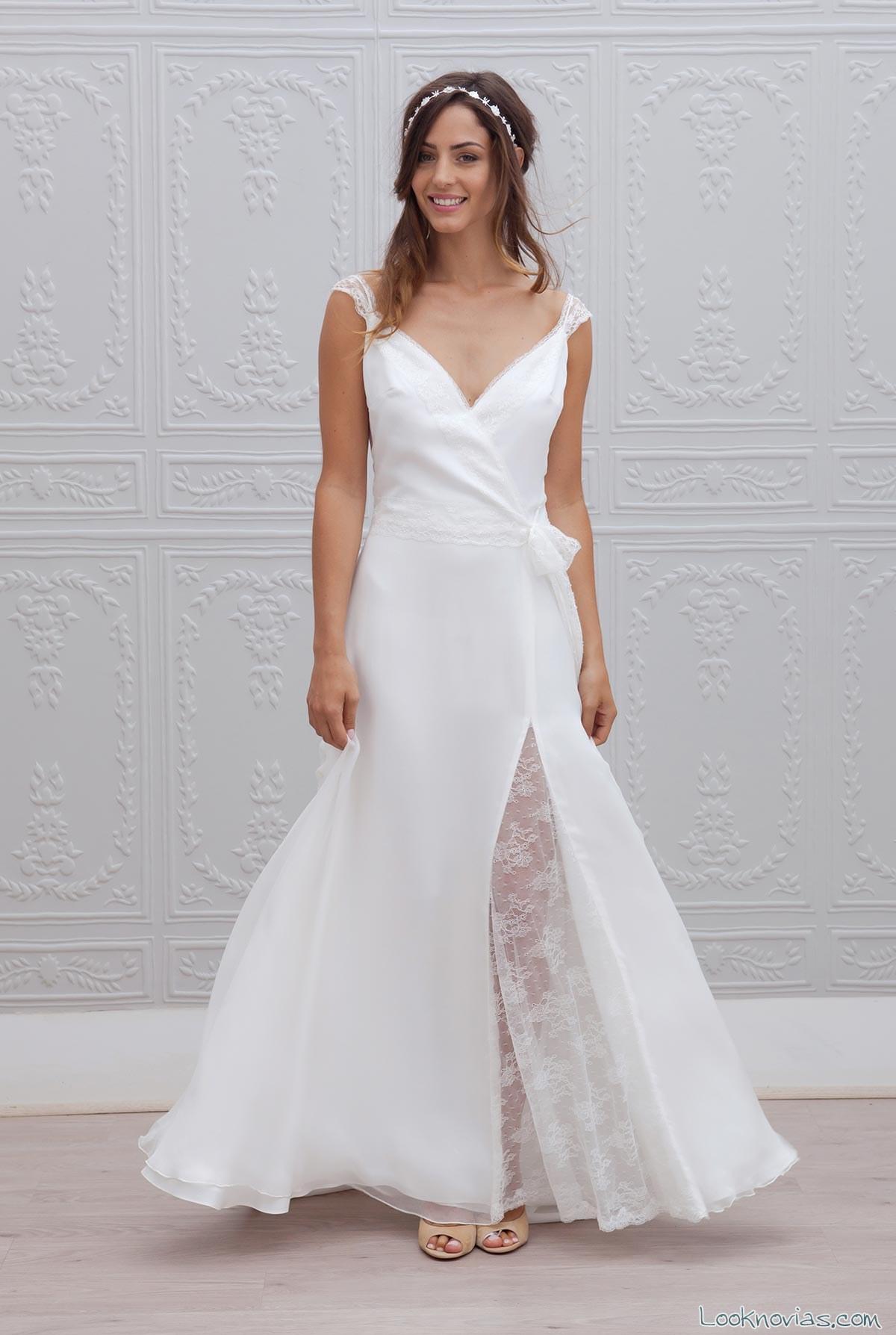 falda combinada para novia