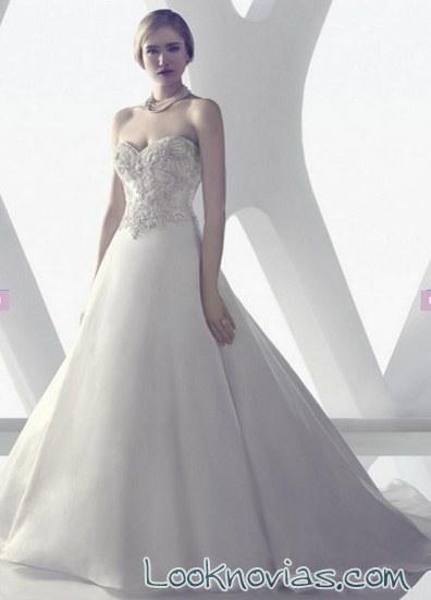 falda y corpiño para novias