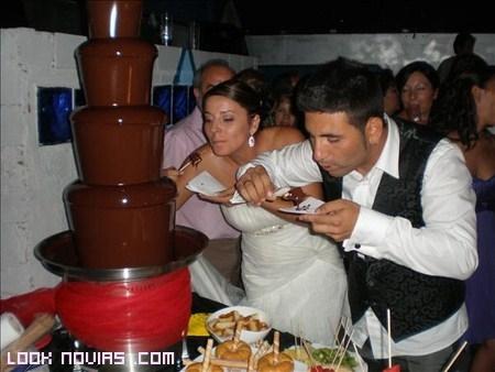 chocolate para bodas