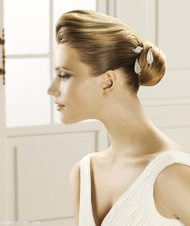 horquillas para adornar peinados de novia