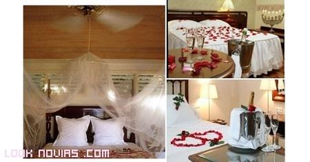 decoración de hotel para novios