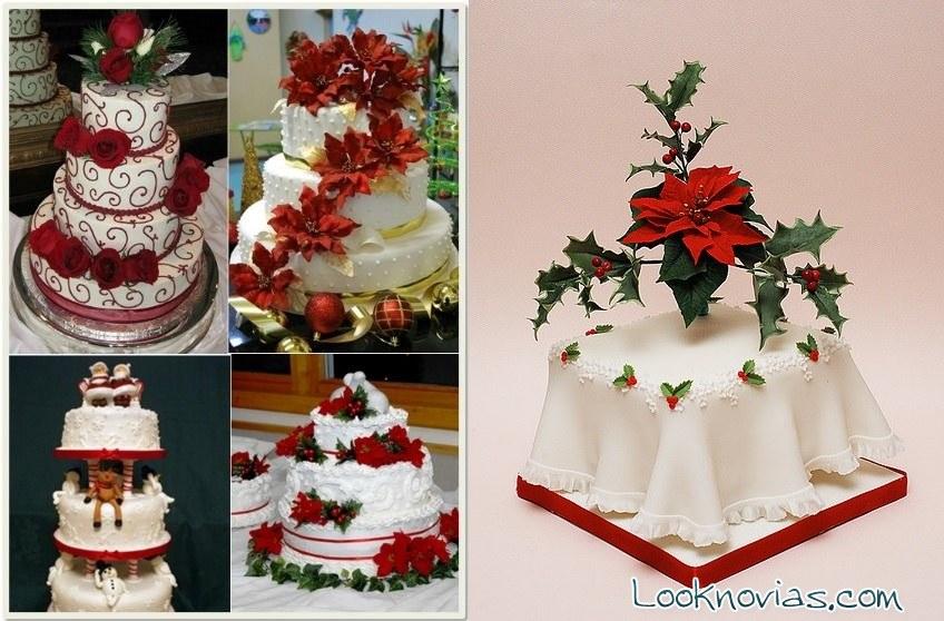 Ideas de pasteles de navidad