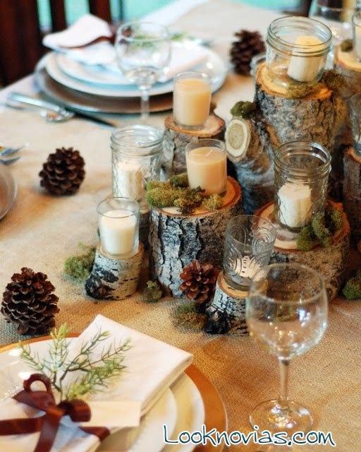 Ideas para mesas decoradas en otoño