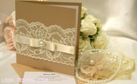 invitaciones bodas manualidades