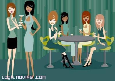 reunión de chicas