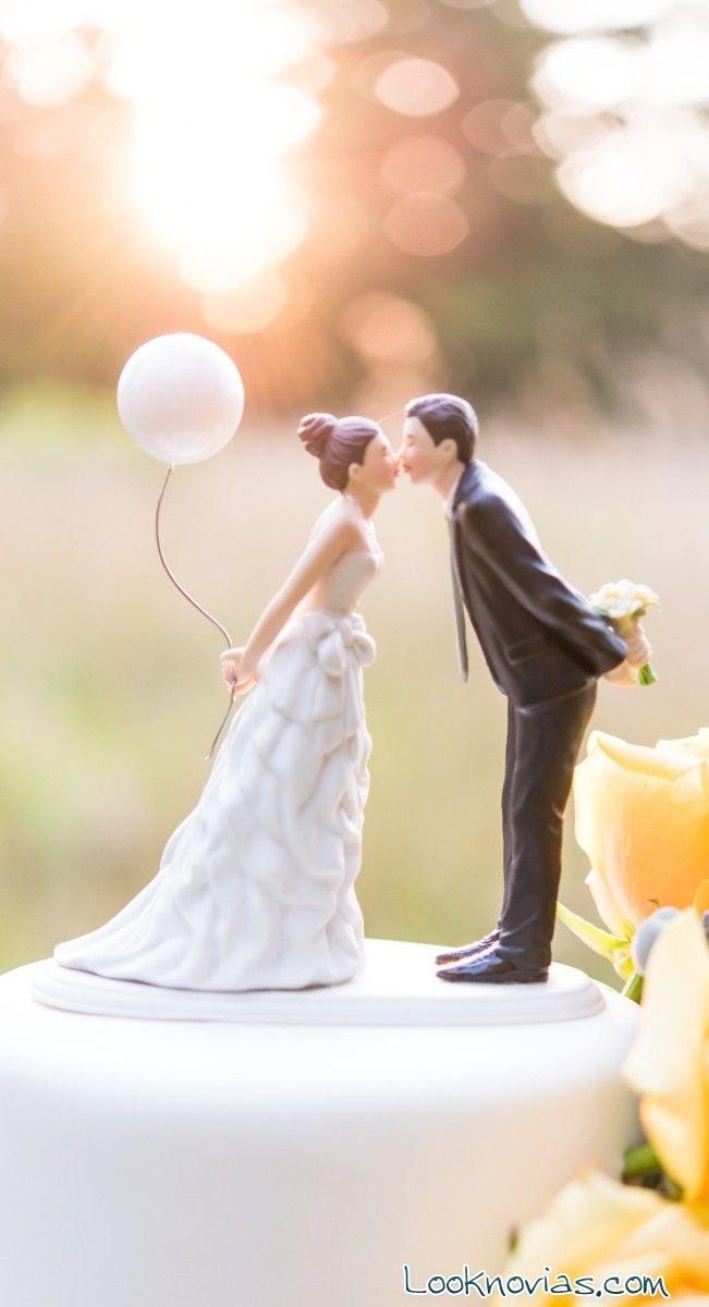 muñecos para tarta de novios