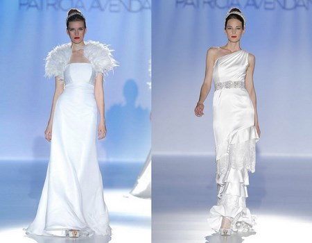 Vestidos de novia Patricia Alveaño 2014
