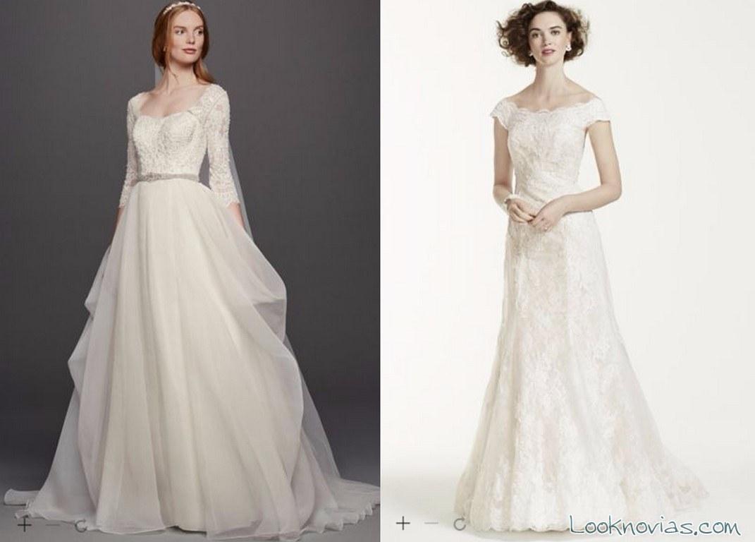 nuevos vestidos de novia oleg cassini