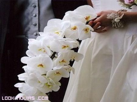 ramos de novia con orquídeas