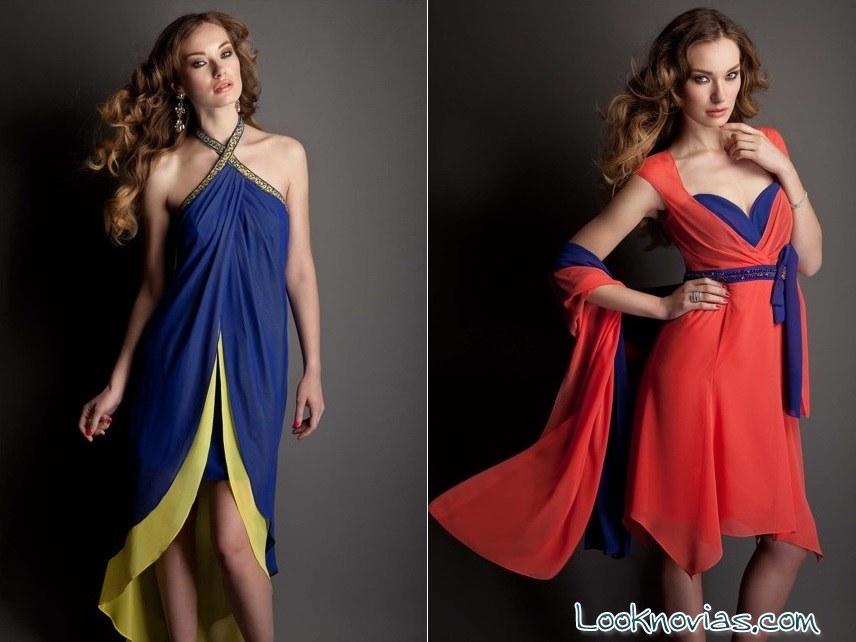 pastore couture vestidos bicolor