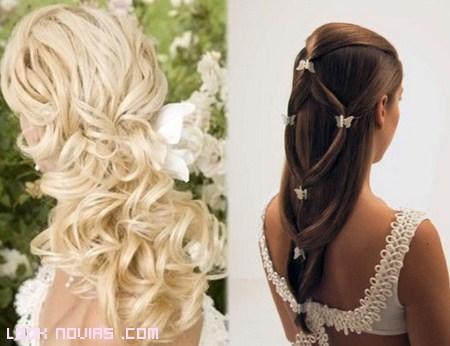 tendencias peinados para novias