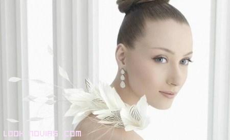 oro blanco para novias rosa clará