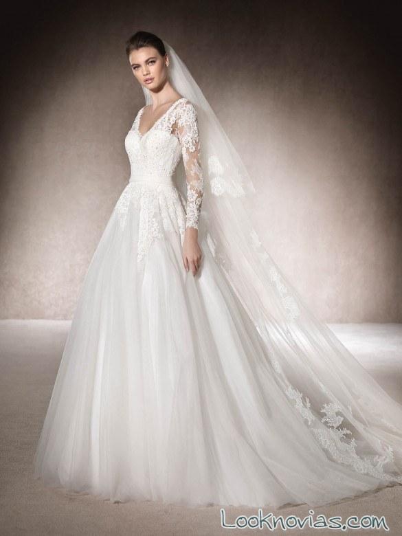 princesa san patrick con vestidos blancos