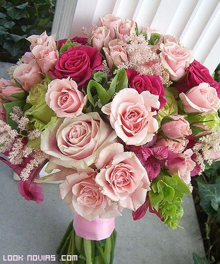 ramos de rosas para novias 2012
