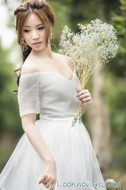 ramo sencillo novias rústicas
