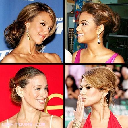 Inspírate en los peinados de las famosas