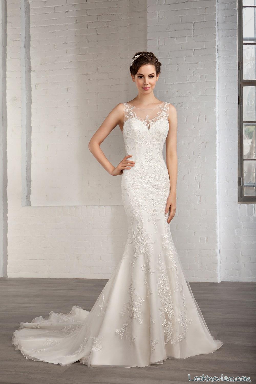 romántico vestido cosmobella 2016