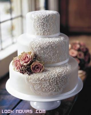 pasteles decorados con manga pastelera
