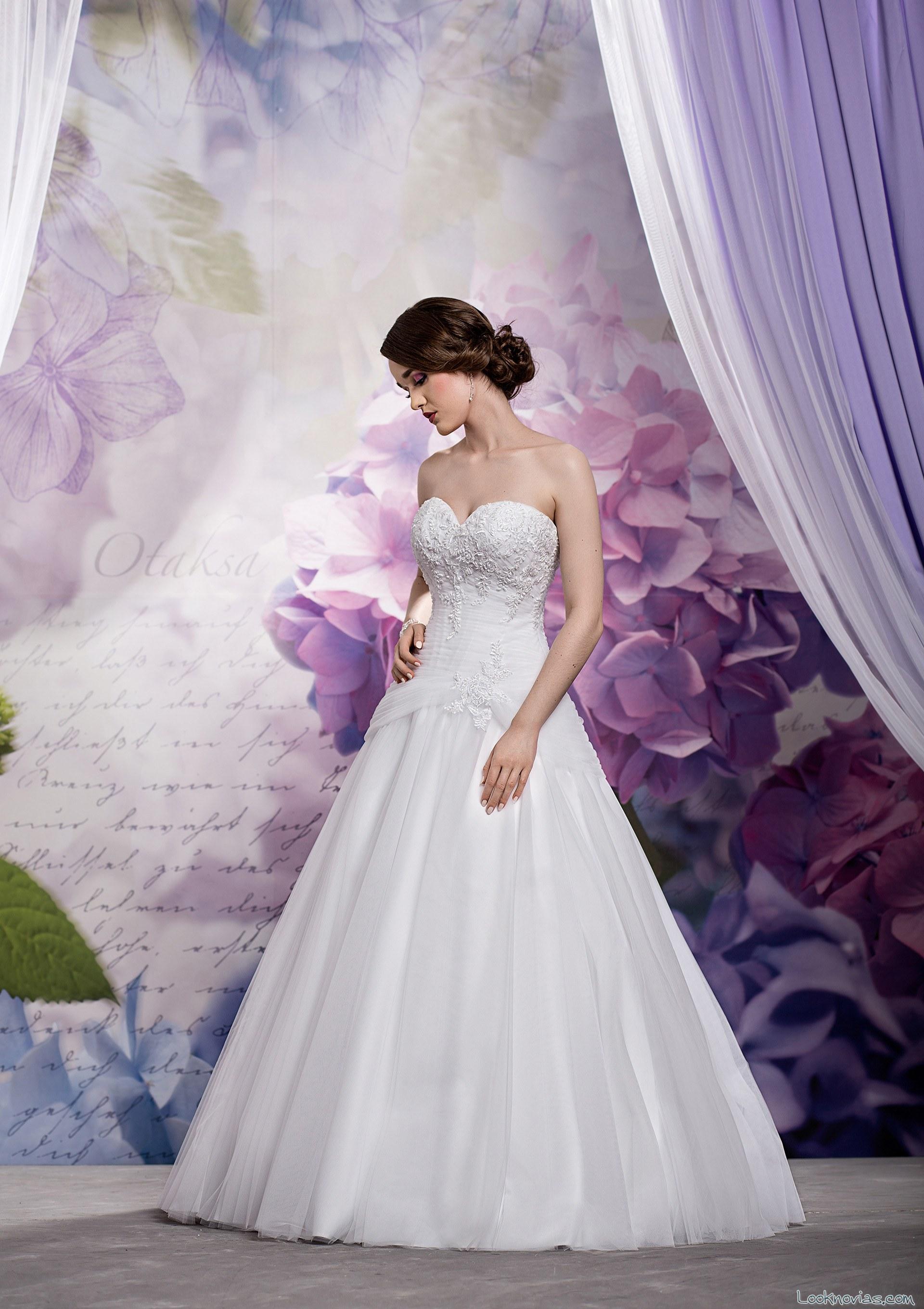 traje de novia lucienne 2016