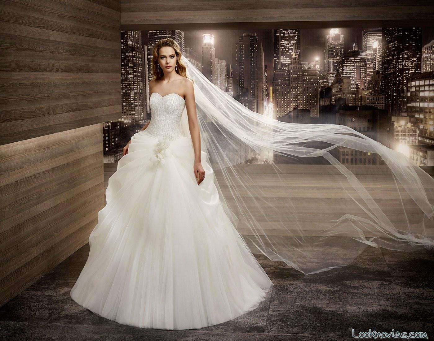 traje de novia princesa nicole sposa