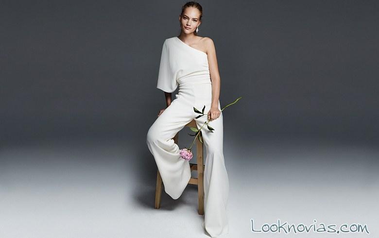 traje pantalón para novias max mara