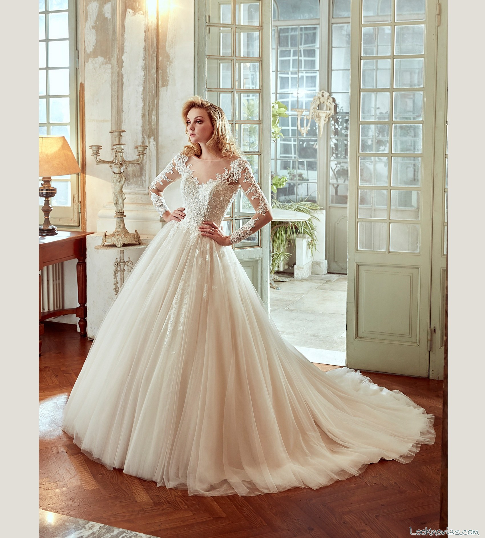 traje princesa nicole spose 2017 bodas