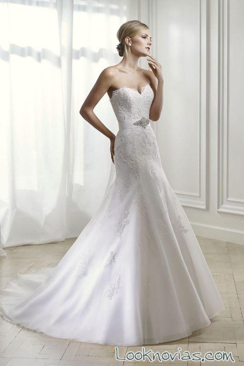 traje recto de novias divina sposa