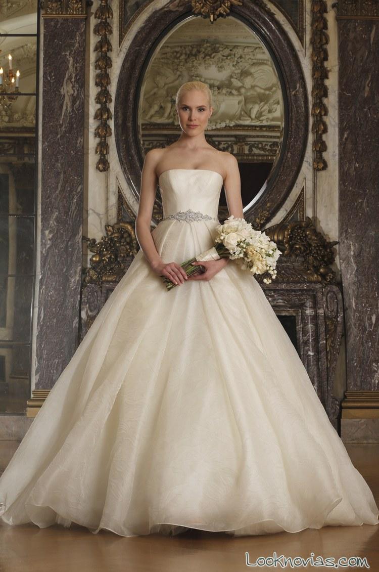 traje romántico novias 2016