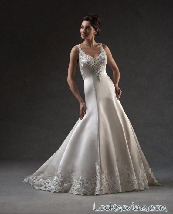 traje seda novias bonny bridal