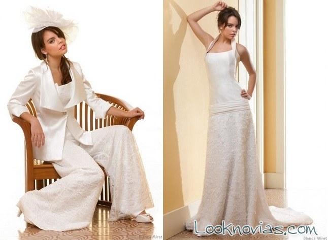 trajes para novias de blanca miret