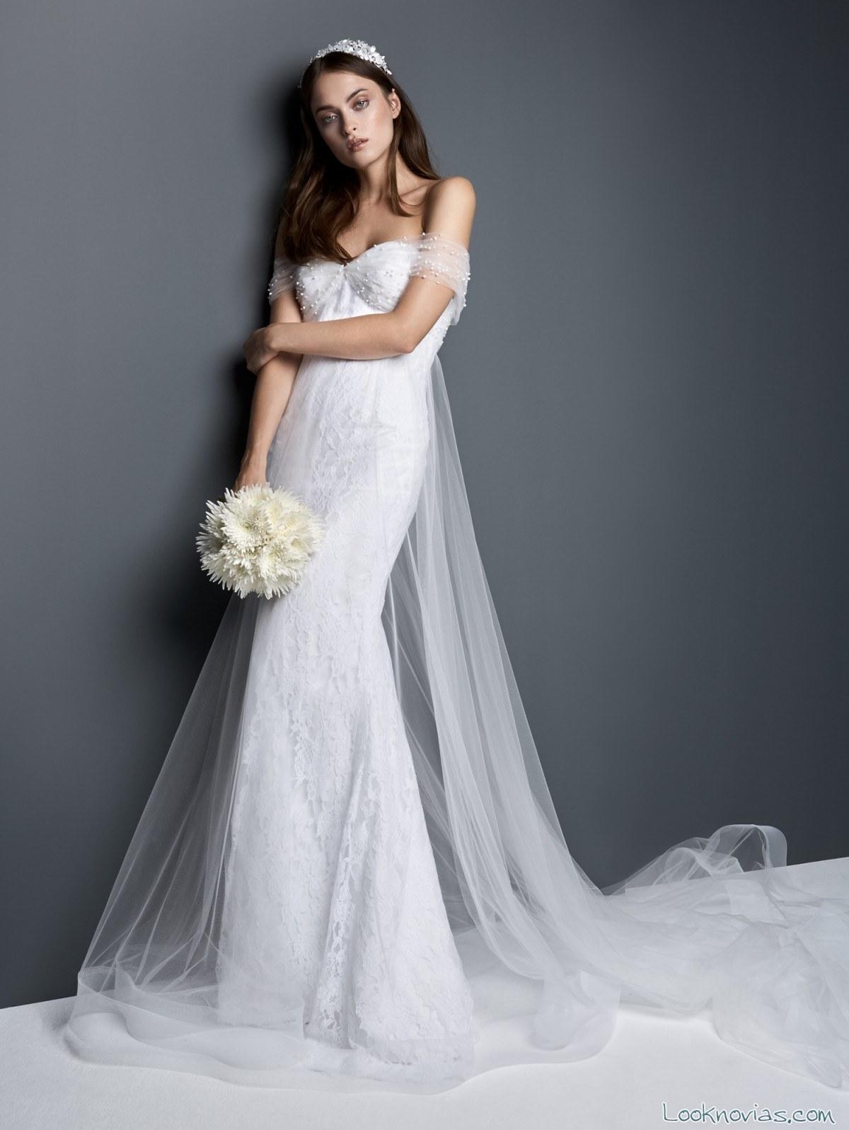 vestido ajustado de novia georges hobeika
