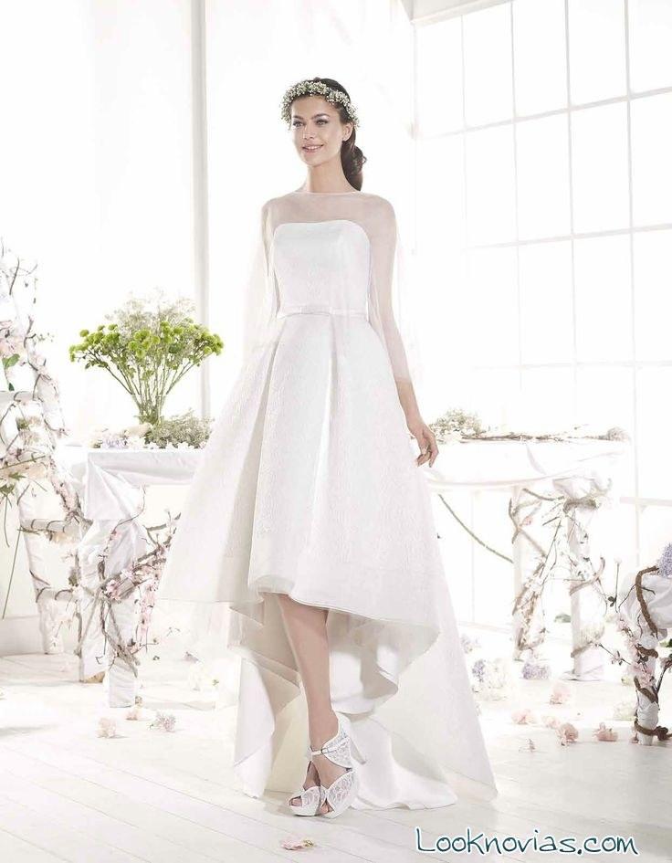 vestido asimétrico cala brides