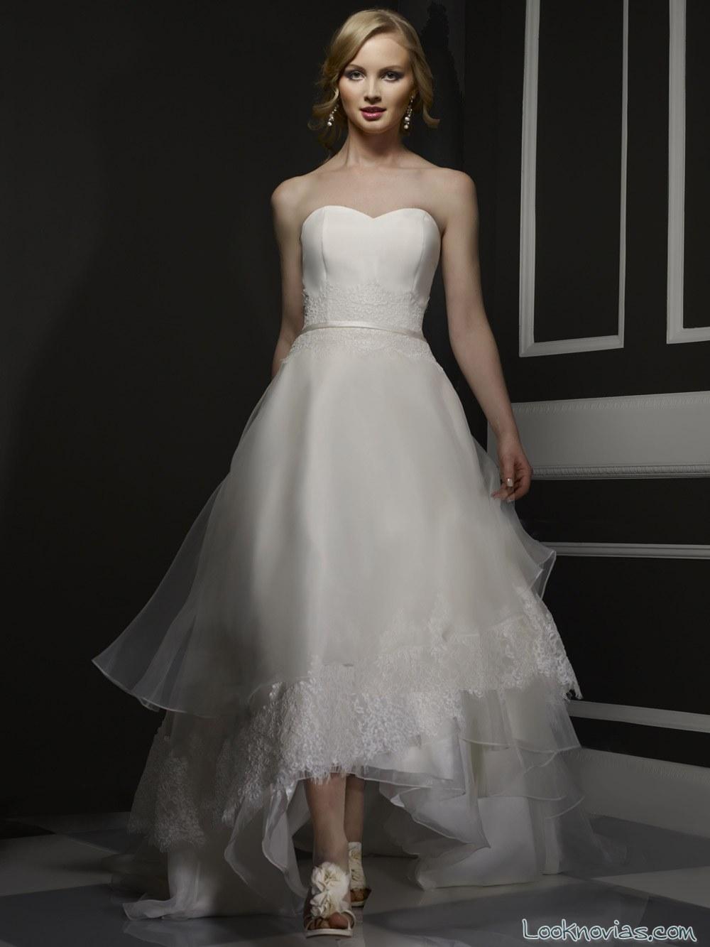 vestido asimétrico de robert bullock