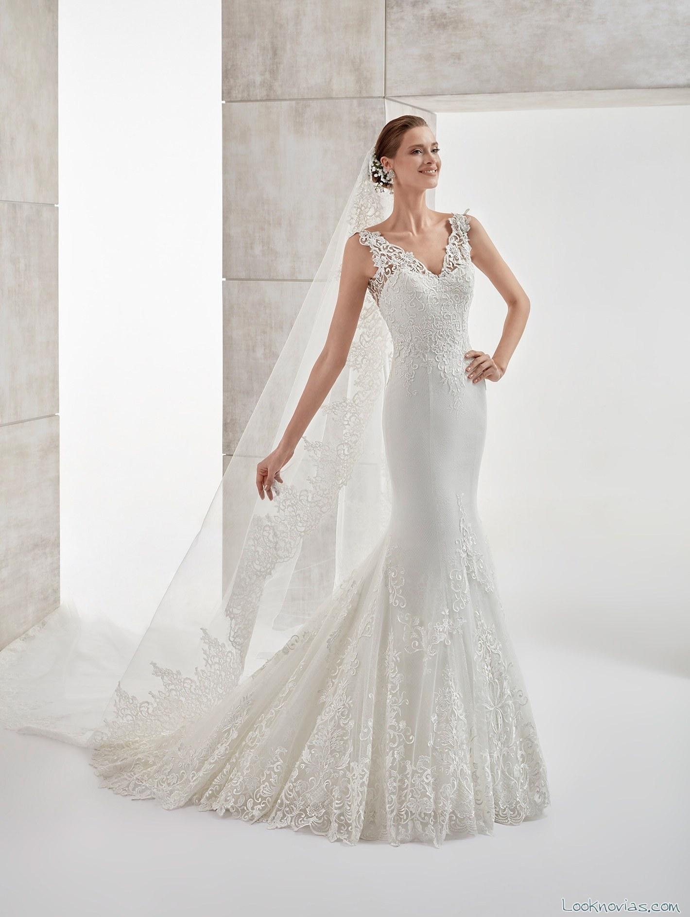 vestido aurora blanco novias