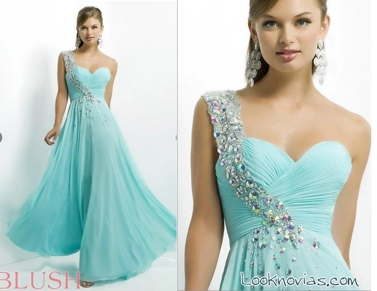vestido azul alexia blush