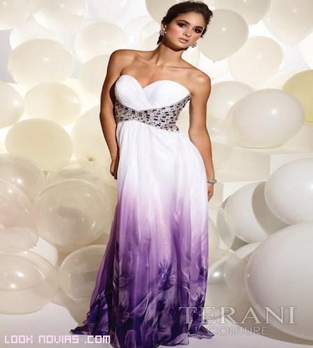 Escote corazón en vestidos largos