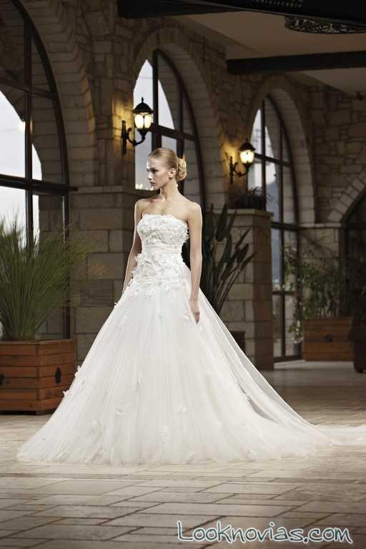 vestido blanco de novia de madam burcu
