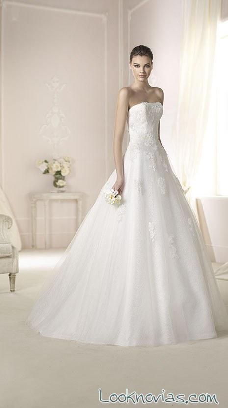 vestido blanco de white one