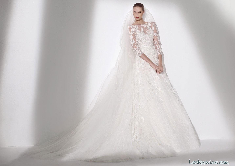 vestido blanco Elie Saab