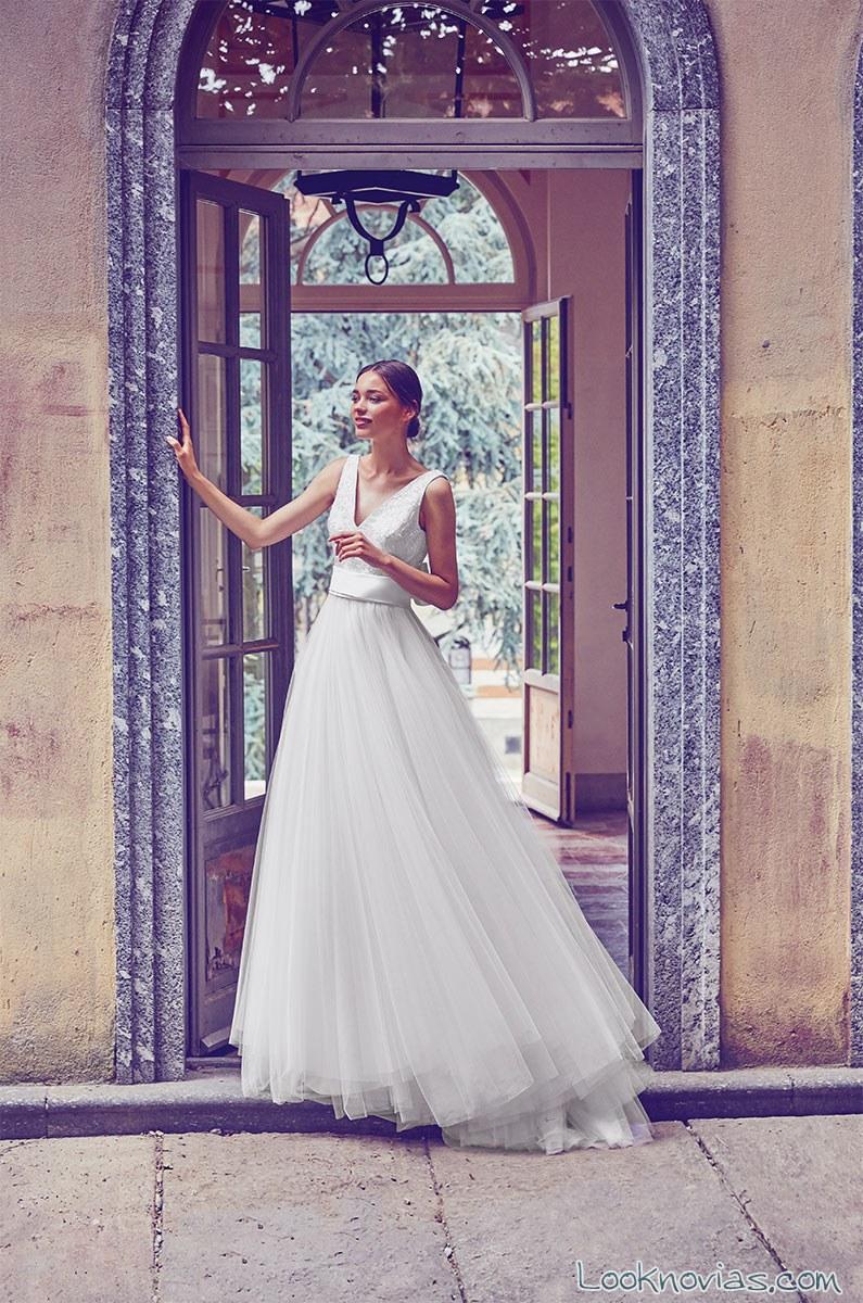 vestido blanco falda de tul giuseppe papini