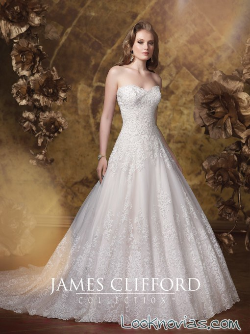vestido blanco james clifford