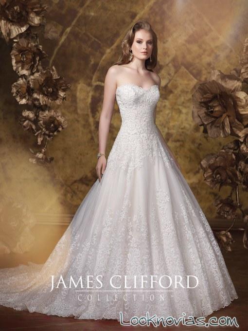 vestido blanco james clifford