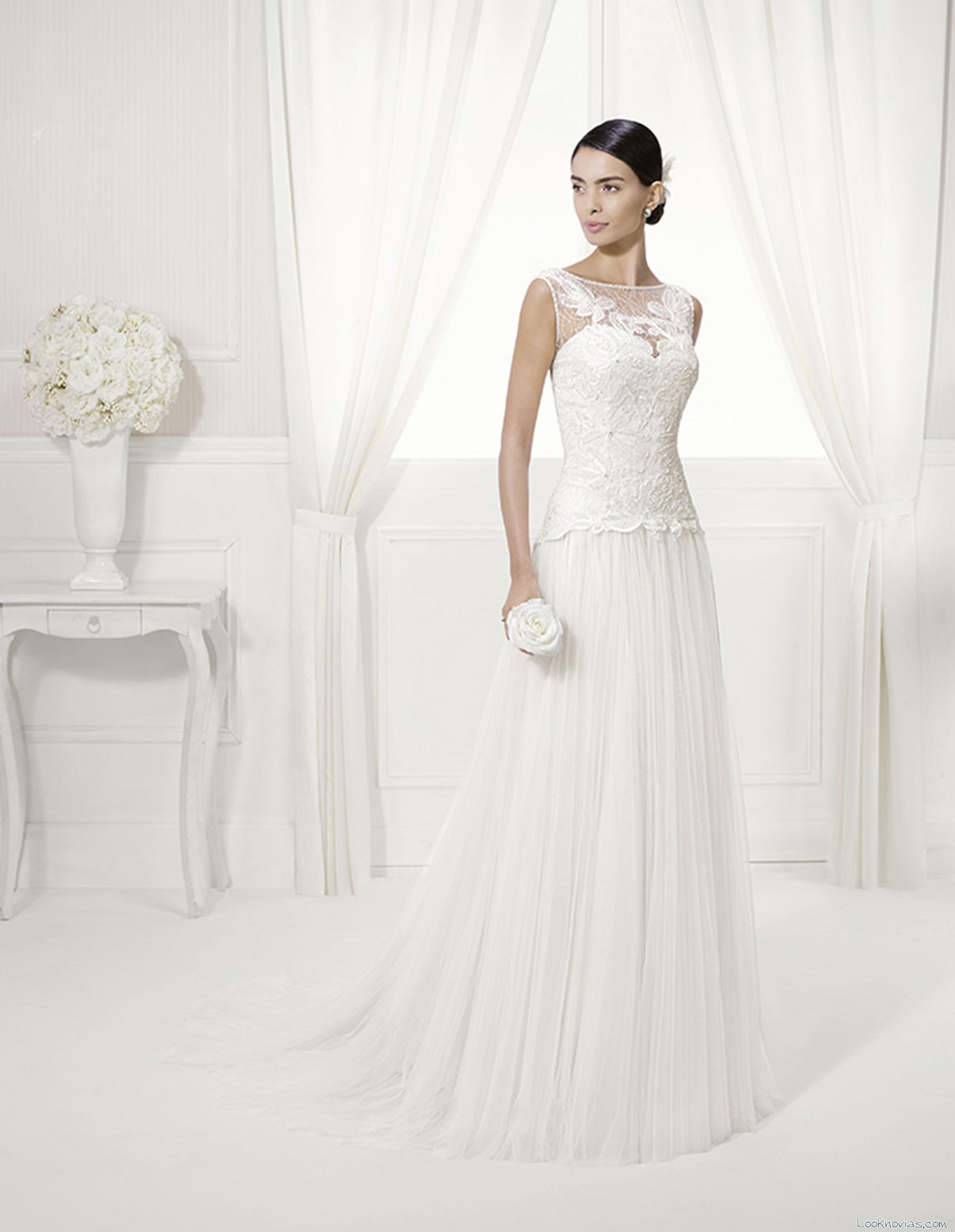 vestido blanco novias essence alma novia