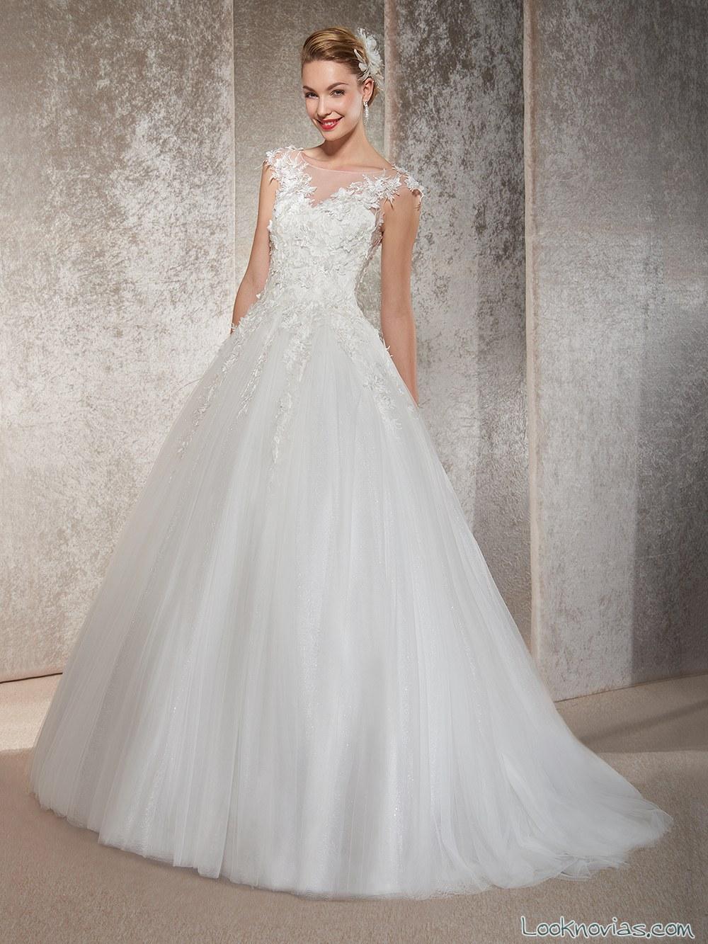 vestido blanco para novias annie couture