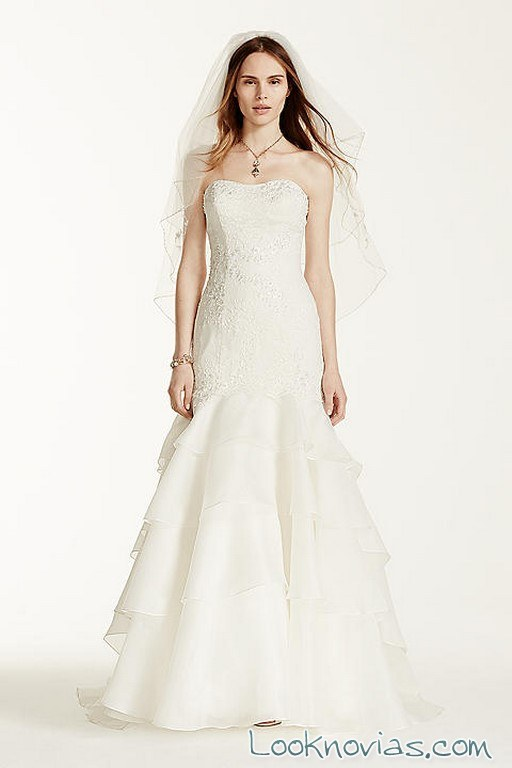 vestido blanco para novias melissa sweet