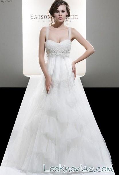 vestido blanco saison blanche