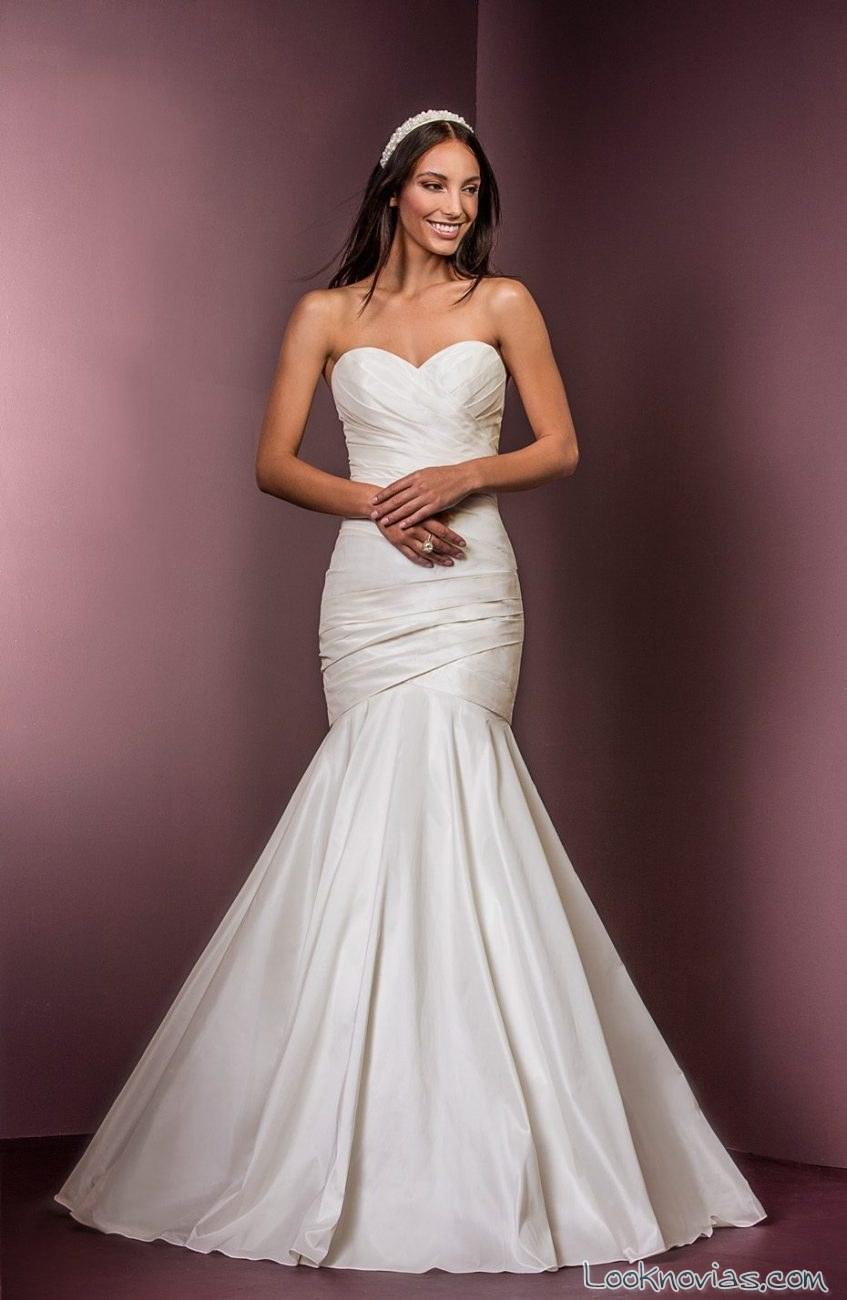 vestido blanco sirena ellis bridals
